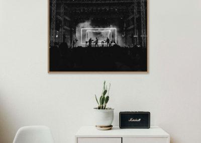 encadrement photo série Alpha Nielsen verre sans reflet Toulon Hyères